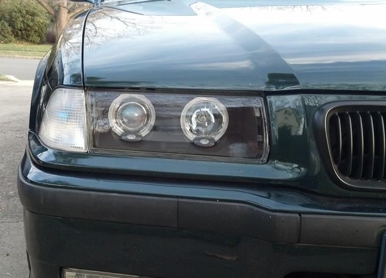 Hella BMW E36 Shadowline headlight