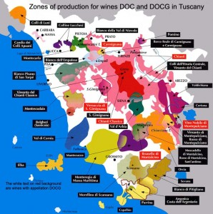 Deciphering the Wines of Tuscany