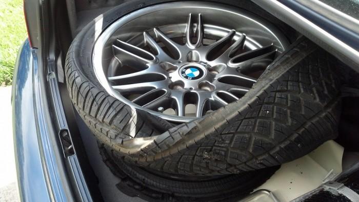 M5 flat tire
