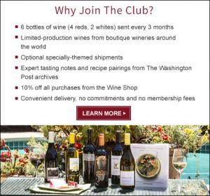 Washington Post Wine Club Interview