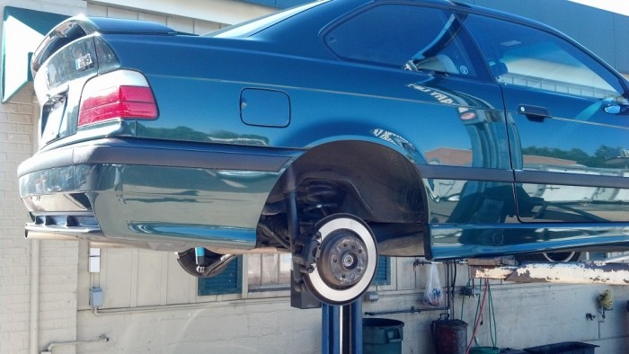 E36 M3 rear spring pads