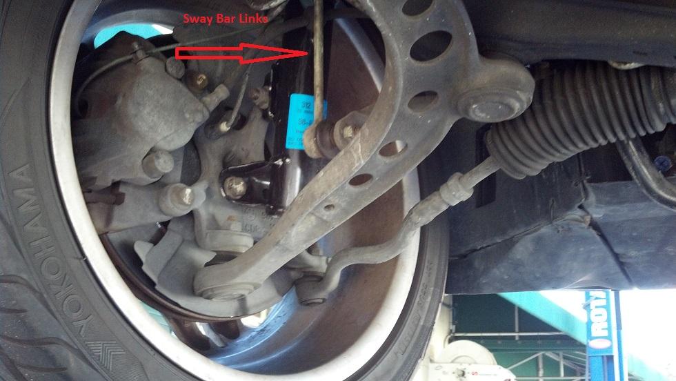 Front Sway Bar Link Replacement on the E36 M3 - chrisparente com