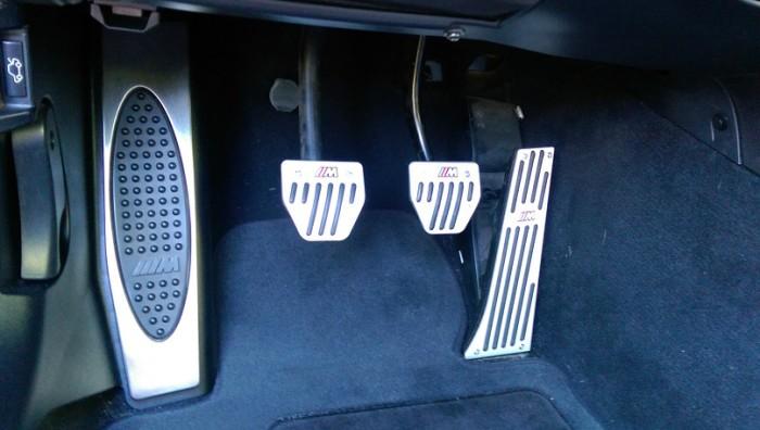 New pedal kit