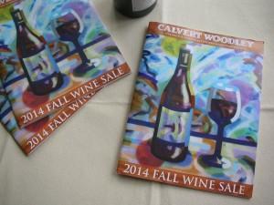 Calvert Woodley Fall Wine Sale