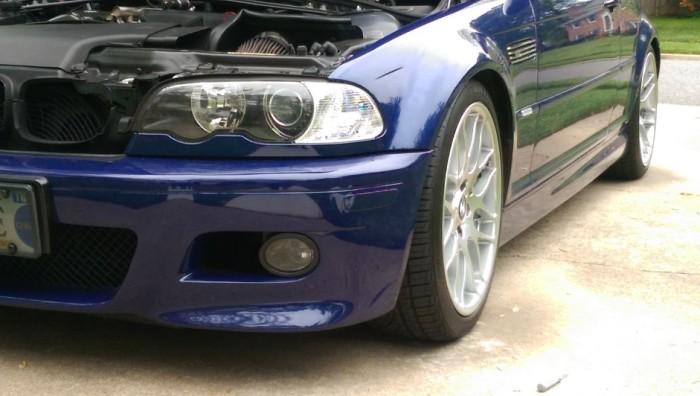 E46 M3 reflectors