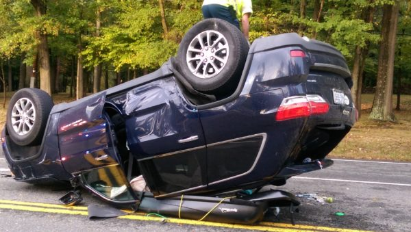 Jeep Cherokee Comes Through in Crash