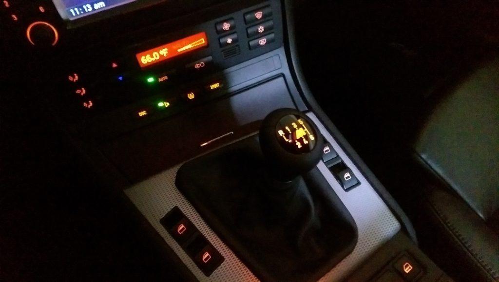 E46 Shift Knob