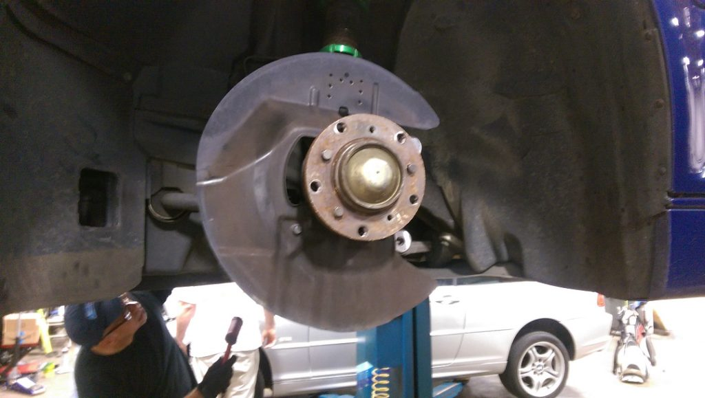 BMW brake rotors and pads