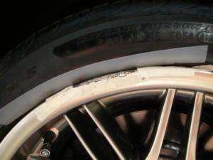Curb Rash Repair on an E39 M5