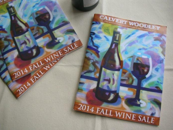 Calvert Woodley Fall Wine Sale